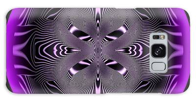 Galaxy Case featuring the digital art Coils Iv by Visual Artist Frank Bonilla