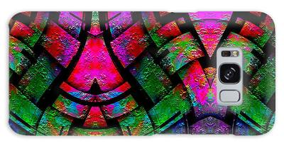 Galaxy Case featuring the digital art Color By Jesus by Visual Artist Frank Bonilla