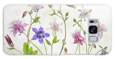 Aquilegia Photographs Galaxy Cases