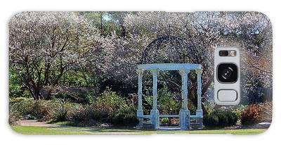 Galaxy Case featuring the photograph Come Into The Garden by Cynthia Guinn