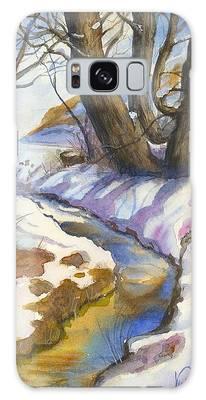 Creek At Bobcat Ridge Galaxy Case