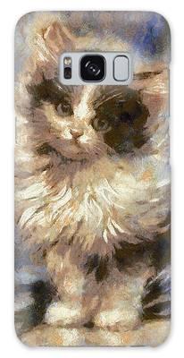 Cute Kitty Galaxy Case