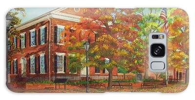 Dahlonega's Gold Museum In Autumn Galaxy Case