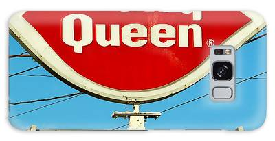 Galaxy Case featuring the photograph Dairy Queen Sign by Cynthia Guinn