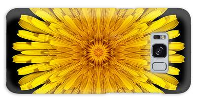 Dandelion Flower Mandala Galaxy Case