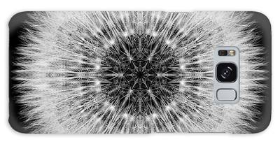 Dandelion Head Flower Mandala Galaxy Case