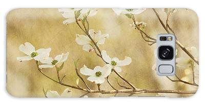 Days Of Dogwoods Galaxy Case