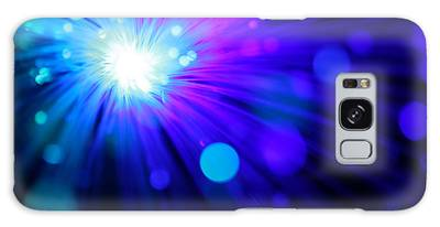 Dazzling Blue Galaxy Case