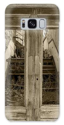 Decaying History In Black And White Galaxy Case