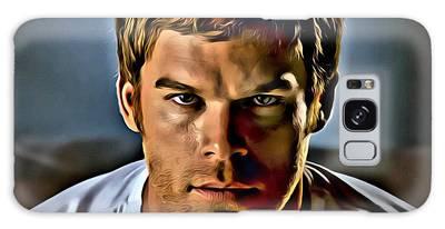 Dexter Portrait Galaxy Case
