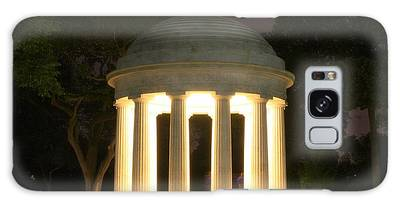 District Of Columbia World War I Memorial At Night Galaxy Case