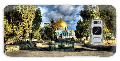 Dome Of The Rock Hdr Galaxy Case