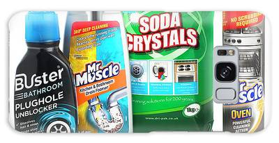 Drain Cleaner Photographs Galaxy Cases