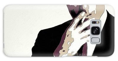 Don Draper Poster Art Galaxy Case