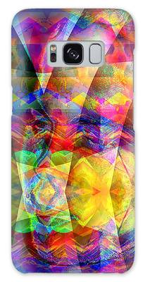 Galaxy Case featuring the digital art Dreaming by Visual Artist Frank Bonilla