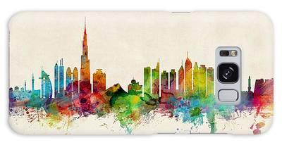 Dubai Skyline Galaxy Case