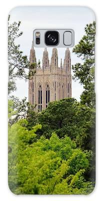 Galaxy Case featuring the photograph Duke Chapel by Cynthia Guinn