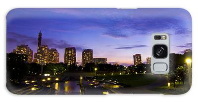Dusk At Rinko Park In Yokohama Galaxy Case