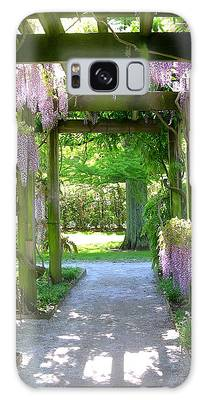 Galaxy Case featuring the photograph Entranceway To Fantasyland by Susan Maxwell Schmidt