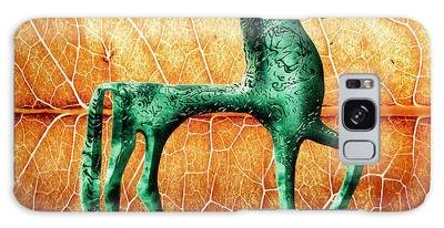Etruscan Horse Galaxy Case
