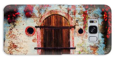 Galaxy Case featuring the photograph Fall Door by Ryan Wyckoff