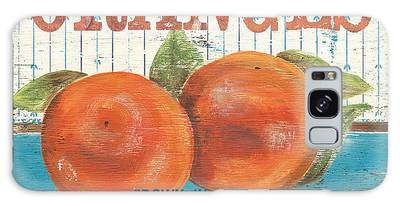 Orange Galaxy Cases