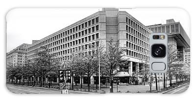Fbi Building Front View Galaxy Case