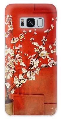 Flower Display - Apple Blossoms Galaxy Case
