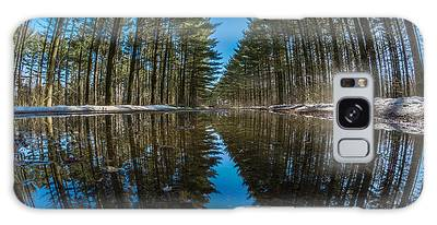 Forest Reflections Galaxy Case