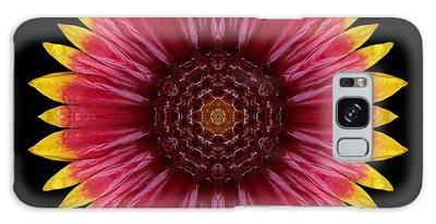 Galliardia Arizona Sun Flower Mandala Galaxy Case