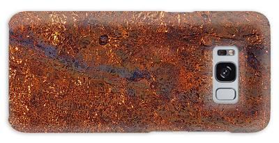 Golden Waters Galaxy Case