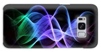 Good Vibrations Galaxy Case