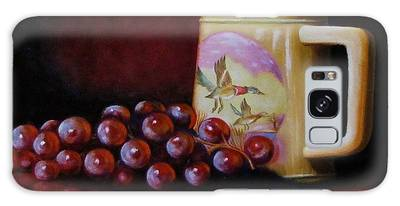 Grape Expectations Galaxy Case