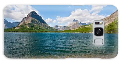 Grinnell Point From Swiftcurrent Lake Galaxy Case