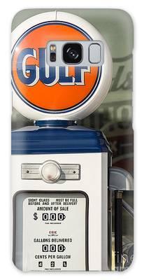 Gulf Oil Gas Pump Galaxy Case