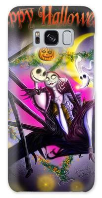 Happy Halloween II Galaxy Case