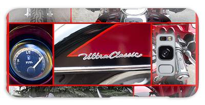 Galaxy Case featuring the photograph Harley Davidson Ultra Classic Trike by Patti Deters
