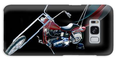 Galaxy Case featuring the photograph Harley by Ericamaxine Price