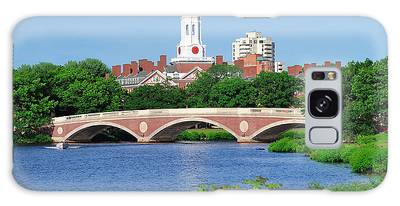 Harvard University Campus In Boston Galaxy Case