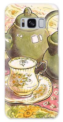 High Tea Galaxy Case