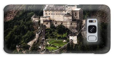 Galaxy Case featuring the photograph Hohenwerfen Castle by Ryan Wyckoff