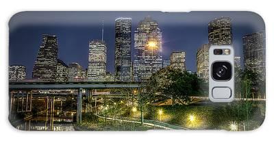Houston On The Bayou Galaxy Case