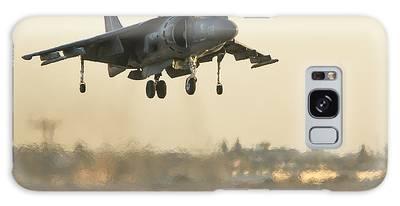 Hovering Harrier Galaxy Case