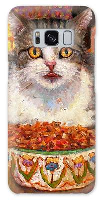 Hungry Cat Galaxy Case