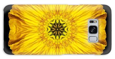 Iceland Poppy Flower Mandala Galaxy Case