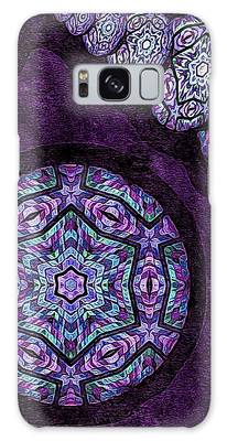 Galaxy Case featuring the digital art Imagine This by Susan Maxwell Schmidt