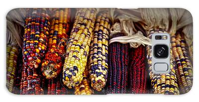 Indian Corn Photographs Galaxy Cases