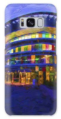 Indianapolis Indiana Museum Of Art Painted Digitally Galaxy Case