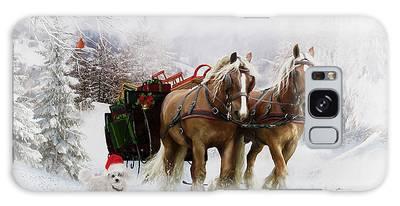 A Christmas Wish Galaxy Case