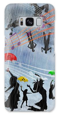 Its Raining Men Hallelujah Galaxy Case by Ericamaxine Price